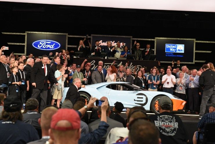 First 2019 Ford GT Heritage Edition