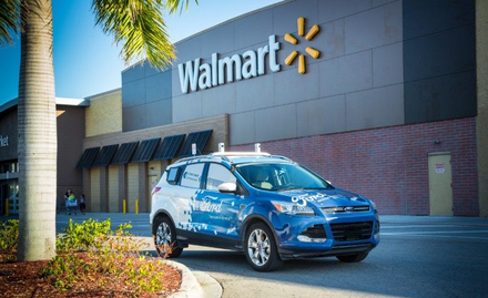 Ford and Walmart Self-driving Delivery Vehicle