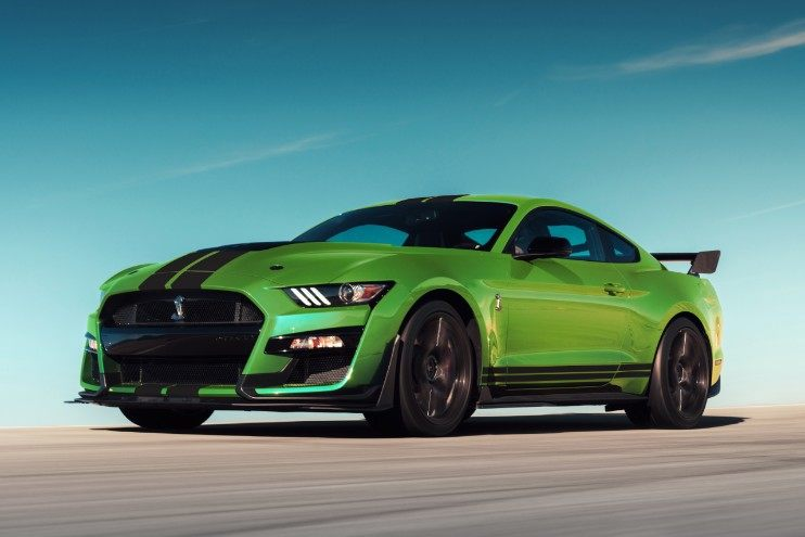 Heritage-Inspired Grabber Lime 2020 Ford Mustang