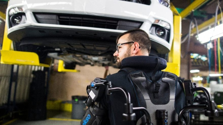Ford Exoskeleton Wearable Technology