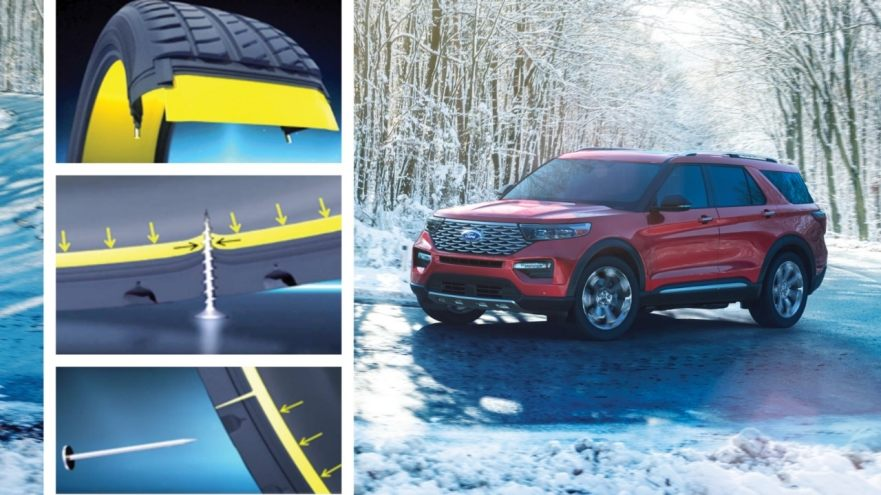 Michelin Selfseal® tires on the all-new Ford Explorer
