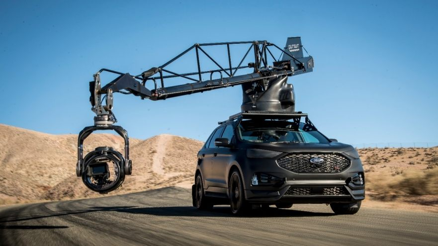 2019 Ford Edge ST camera car