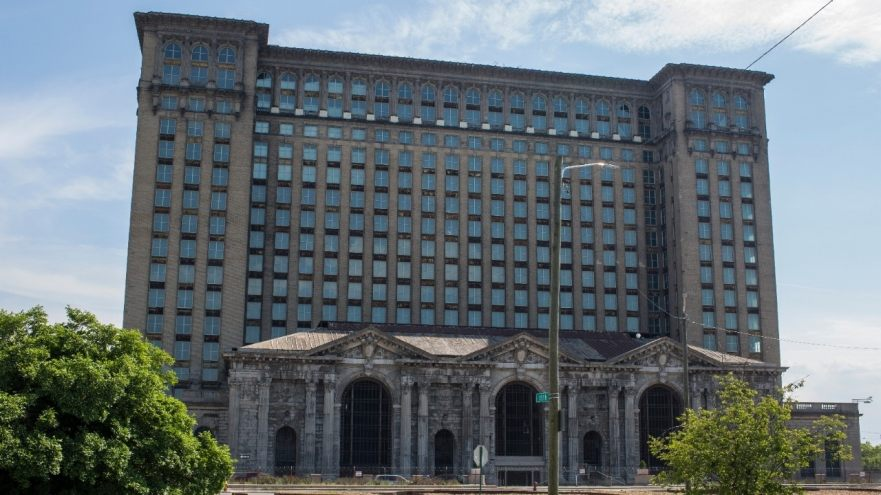 Detroit and Michigan Central Station