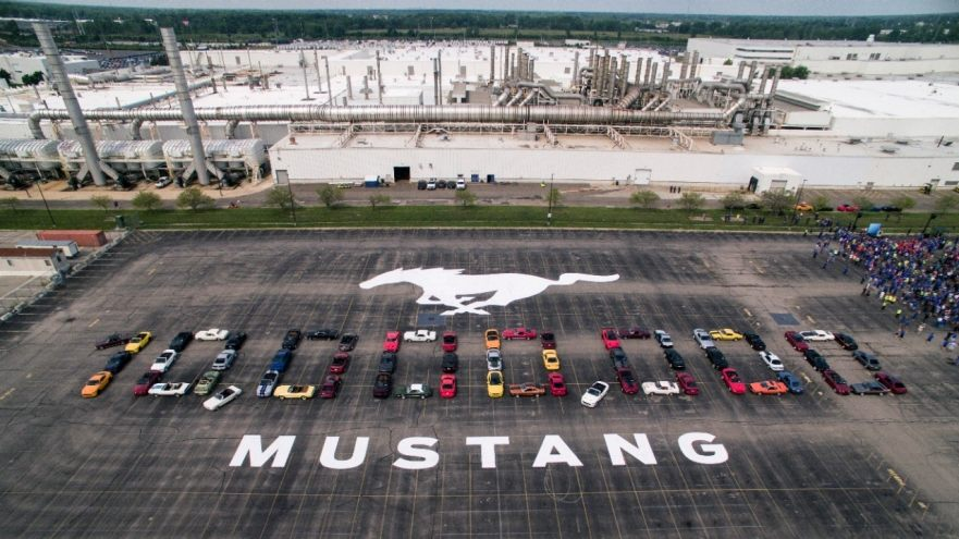 Ford Celebrates Production Of 10 Millionth Mustang
