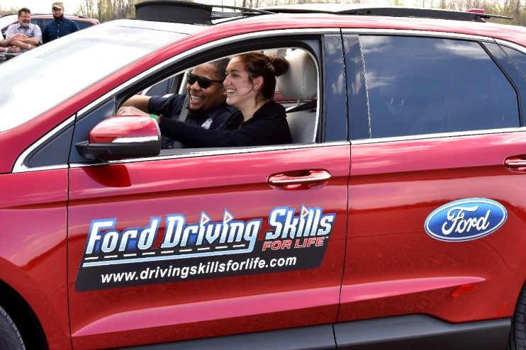 Ford Driving Skills safety training