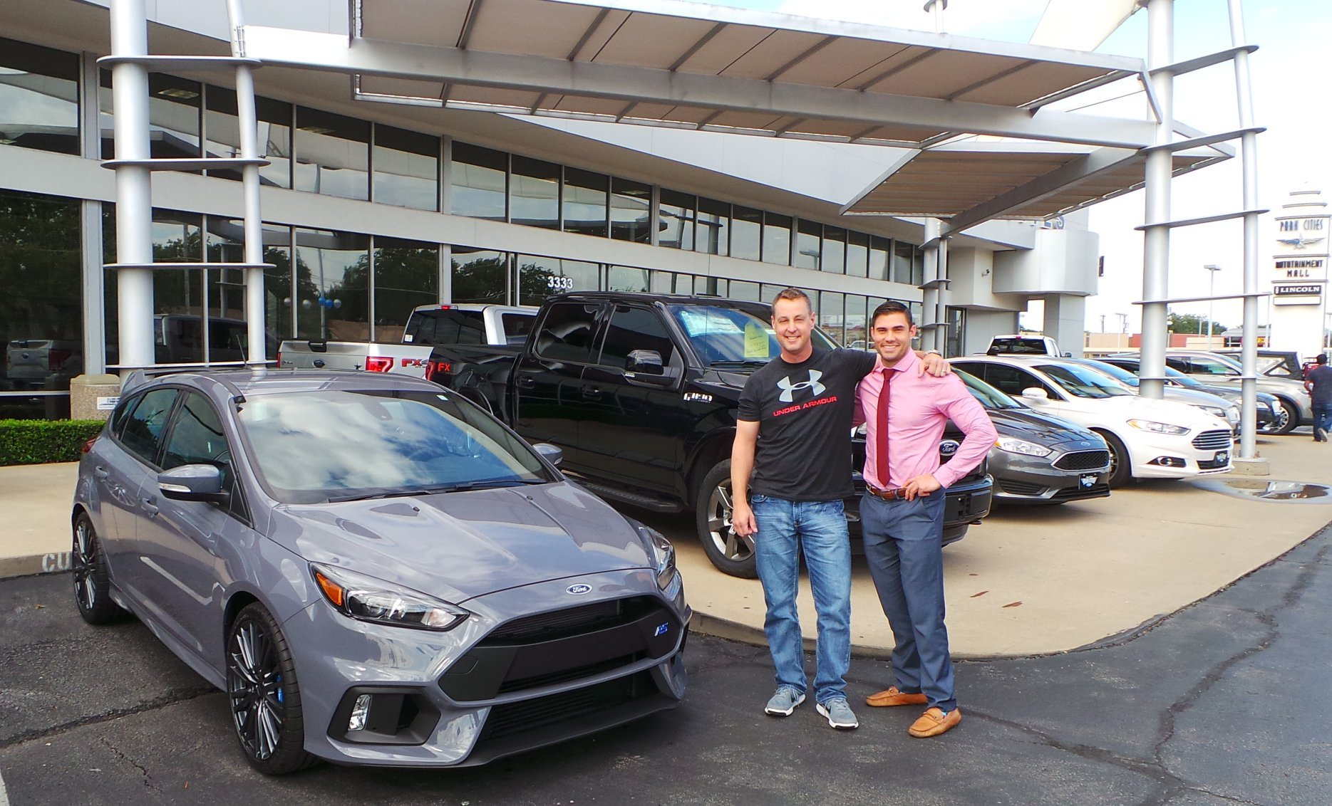 Ford focus rs goes home with new owner