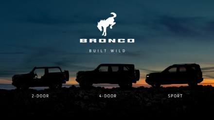 2021 ford bronco lineup
