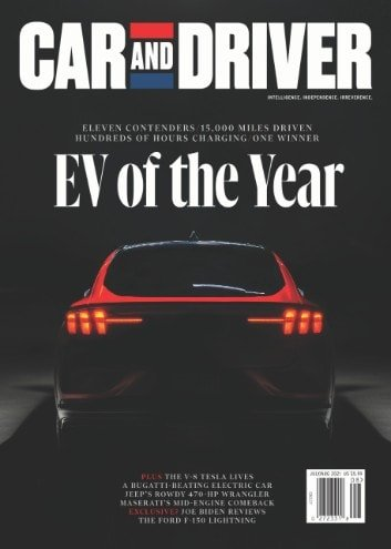 Car and Driver EV of the Year: Mustang Mach-E