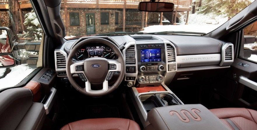 2020 F-250 King Ranch interior