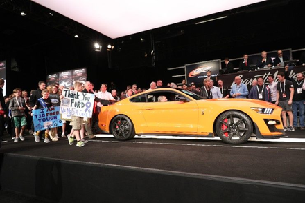 First 2020 Mustang Shelby GT500