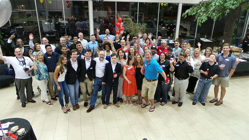 Nick Jones' graduation party at %DEALERSHIP%