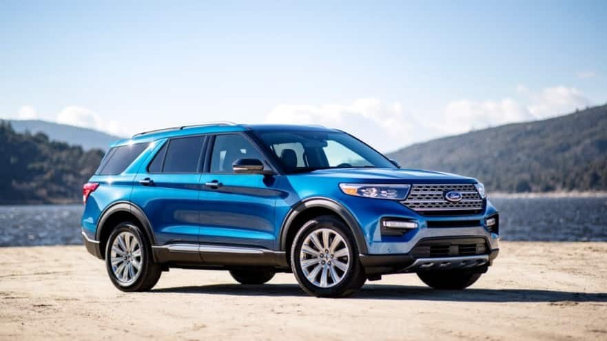 2020 Ford Explorer Limited Hybrid