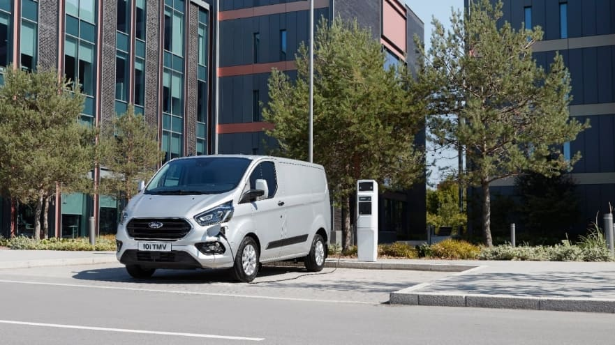 Ford Transit Custom Plug-In Hybrid with 1.0-litre EcoBoost