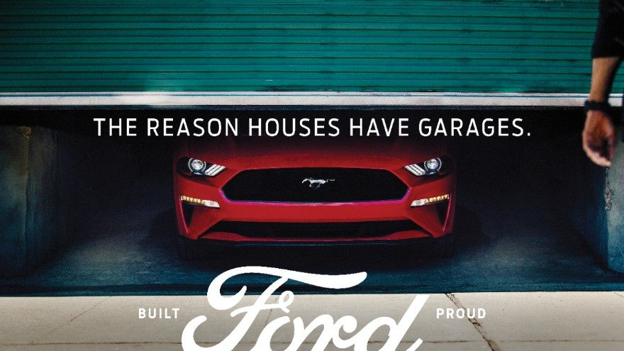 Built Ford Tough Print Ad