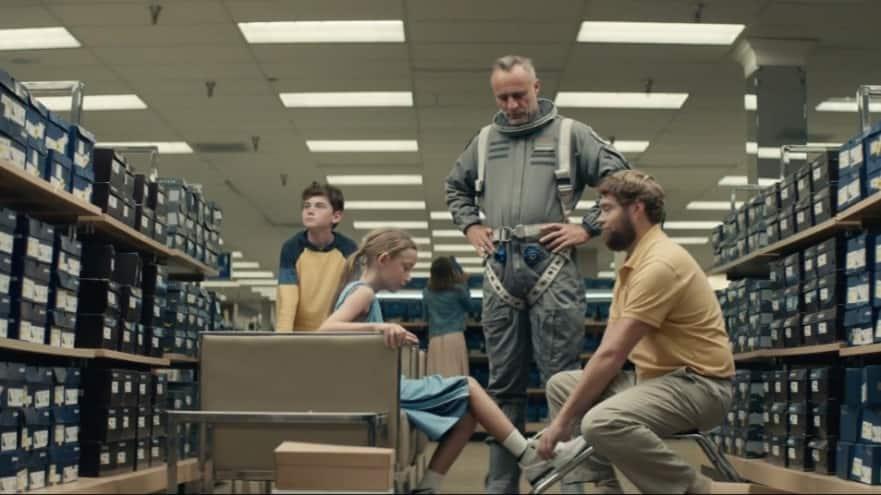still from new 2020 Ford Explorer ad