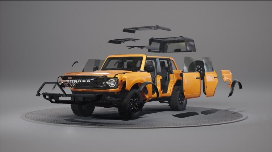 New Ford Bronco - Easy Customization