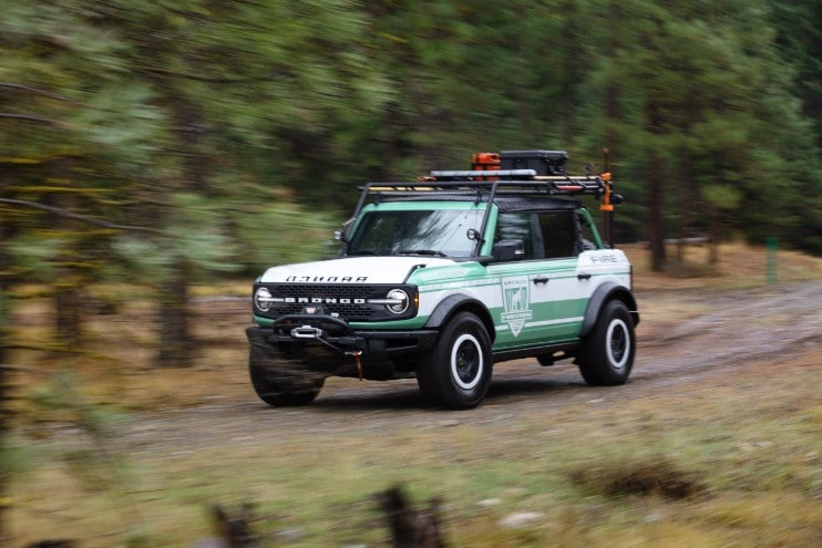 Bronco + Filson Wildland Fire Rig Concept