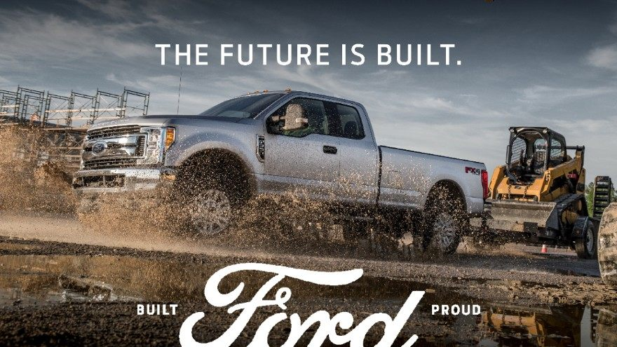 Built Ford Proud print ad