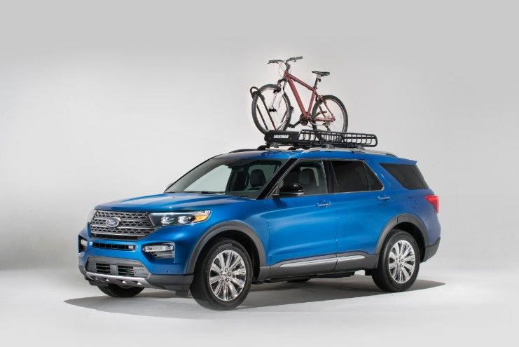 2020 Ford Explorer with Yakima Accessories