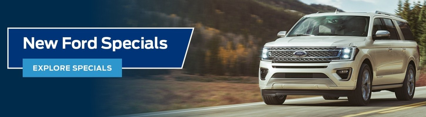 New Ford Specials at Dallas Ford Dealer