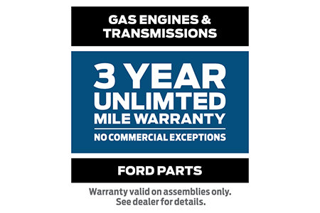 Coupon for Ford Powertrain Products Warranty 3-Year/Unlimited Mile Warranty - No Commercial Exceptions