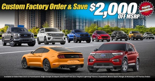 Order Your New Ford Vehicle at Planet Ford Dallas - Your Dallas, TX Ford Dealer!