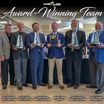 Award Winning Dealerships - Randall Reed - World Class Automotive Group