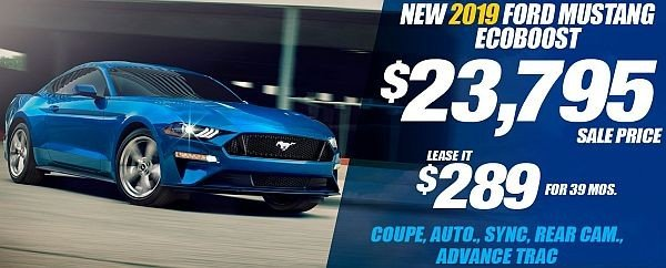 New 2019 Ford Mustang EcoBoost Available for Sale at Park Cities Ford of Dallas - Located in Dallas, TX