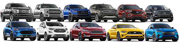 Full Line of New Ford Trucks & SUVs for Sale at Park Cities Ford of Dallas!