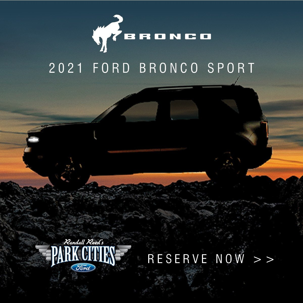New 2021 Ford Bronco Sport - Reserve Now at Park Cities Ford of Dallas - Your Dallas Ford Dealer