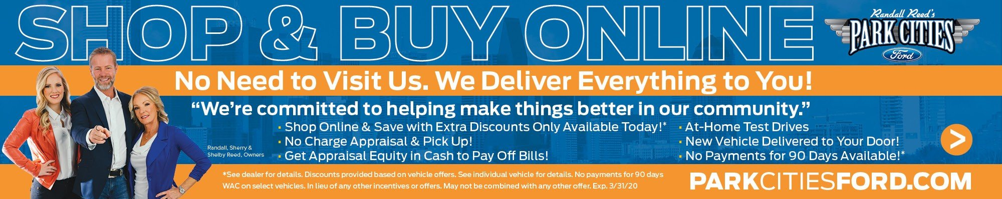 Shop & Buy Online at Park Cities Ford of Dallas - Your Dallas Ford Dealer