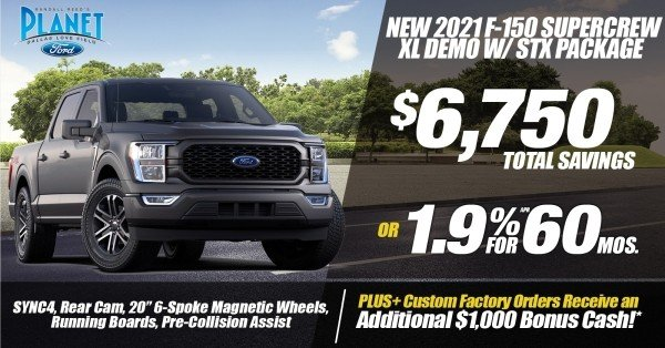 New 2021 Ford F-150 STX for Sale at Planet Ford Dallas - Your Dallas Ford Dealer!