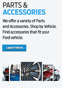 Order accessories for your Ford car or truck today