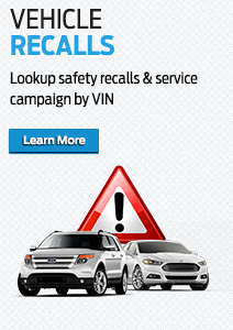 Get information on Ford recalls here