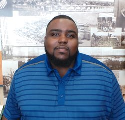 Service Advisor Brandon Hall in Service at Park Cities Ford of Dallas