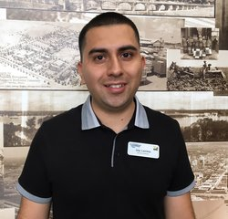 Service Advisor Jay Lerma in Service at Park Cities Ford of Dallas