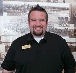 Body Shop Estimator Joshua Bailey in Body Shop at Park Cities Ford of Dallas