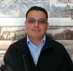 Collision Estimator -  Hablo Español Michael Zamora in Body Shop at Park Cities Ford of Dallas