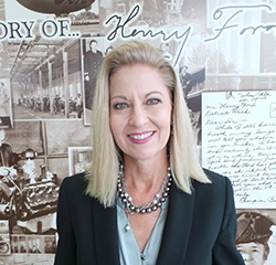 Communications Director Angela Enright in Management at Park Cities Ford of Dallas
