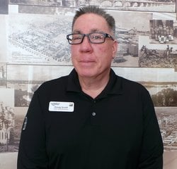 Service Advisor Doug Scott in Service at Park Cities Ford of Dallas