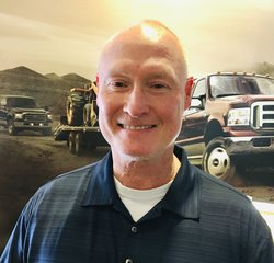 Service Advisor Rich Corbell in Service at Park Cities Ford of Dallas