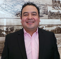 Business Manager Carlo Aguilar in Management at Park Cities Ford of Dallas