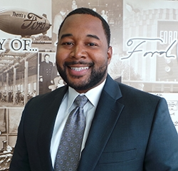 Sales Advisor Damion Mackey in New Ford Sales at Park Cities Ford of Dallas