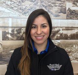 Service Advisor Miranda Martinez in Service at Park Cities Ford of Dallas