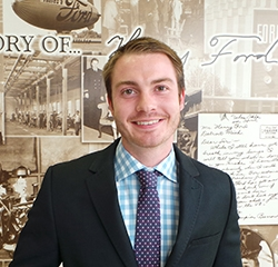 Service Manager Jake Enright in Management at Park Cities Ford of Dallas