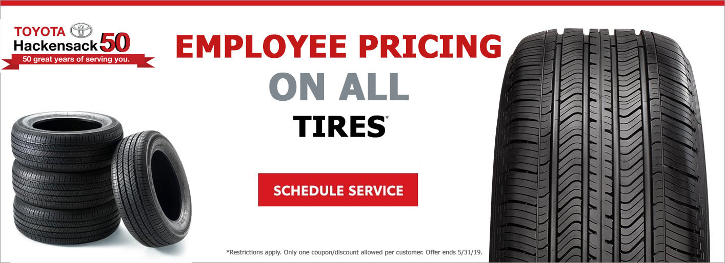 Employee Priced Tires