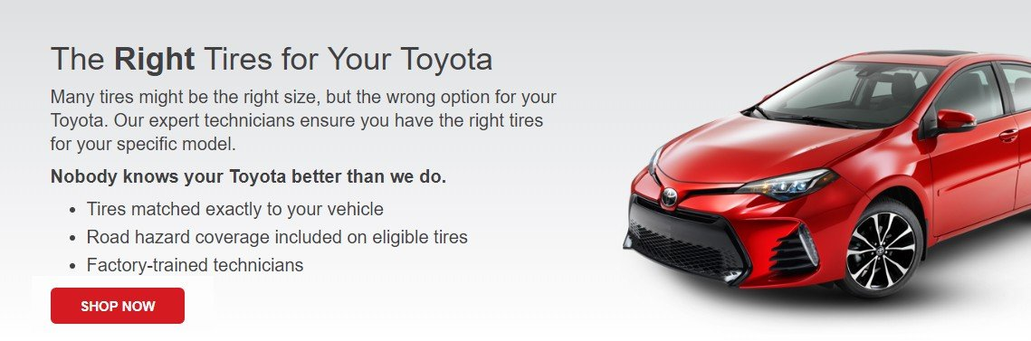 The right tire for your toyota