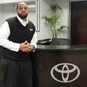 Service Manager Cedric Hopson in Service & Parts at Toyota of Hackensack