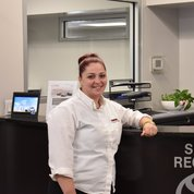 Christina Espana in Service & Parts at Toyota of Hackensack
