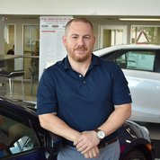 Used Sales Manager Sam Musarra in Sales at Toyota of Hackensack